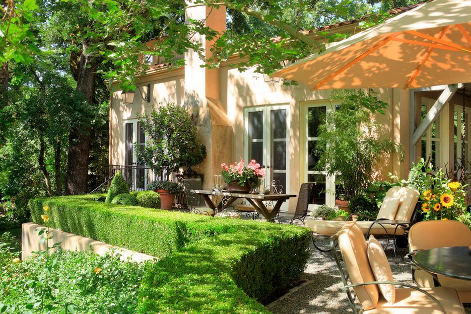 Дизайн итальянских двориков